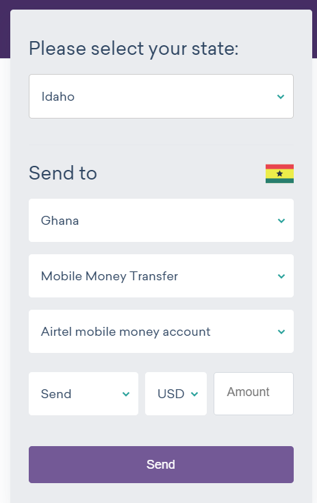 send money to Ghana with Worldremit 3