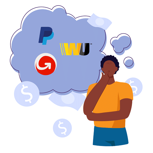 which money transfer operator should I use? Western Union, Moneygram or PayPal?