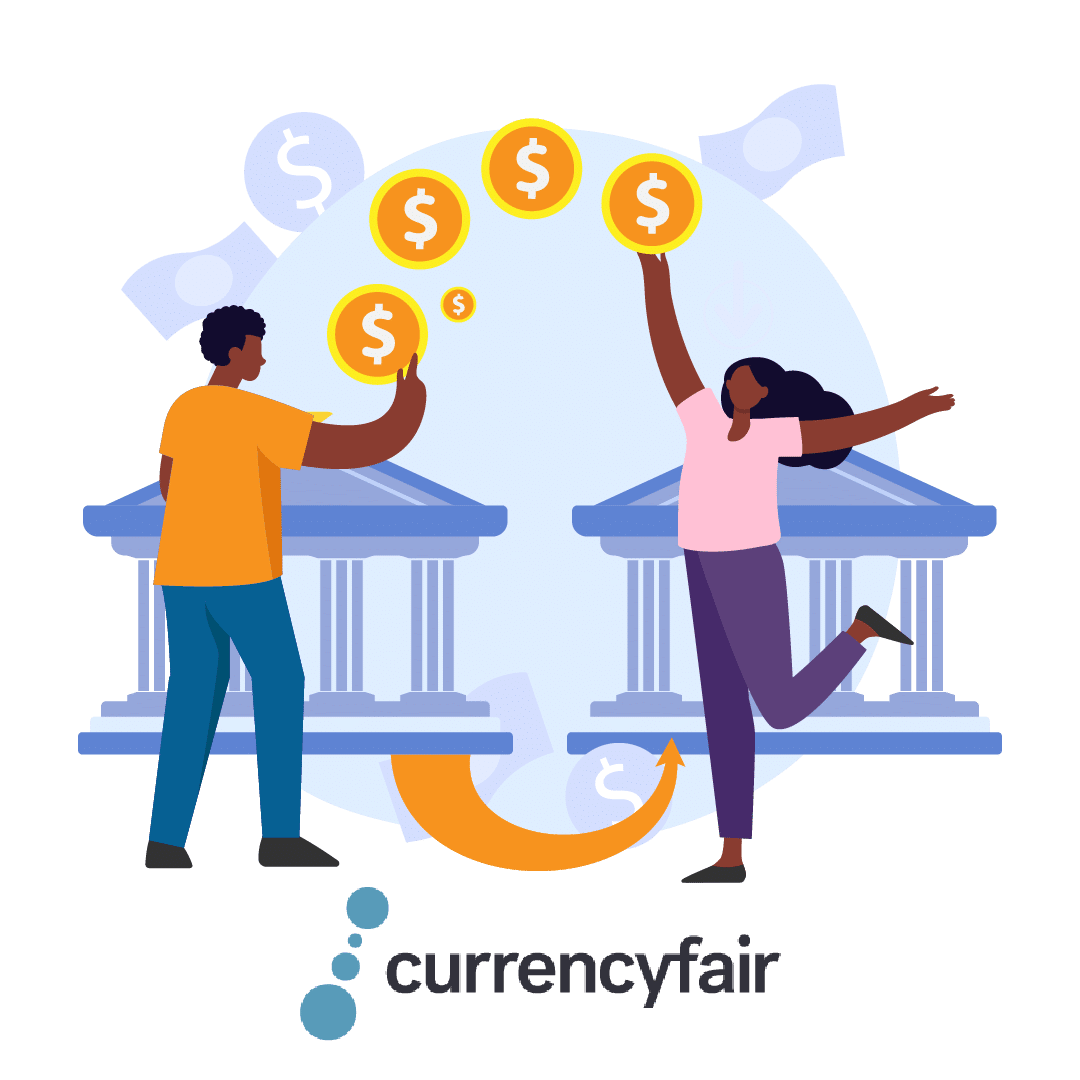 Send money with CurrencyFair app