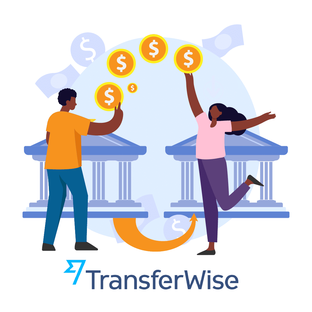 Send money with TransferWise app