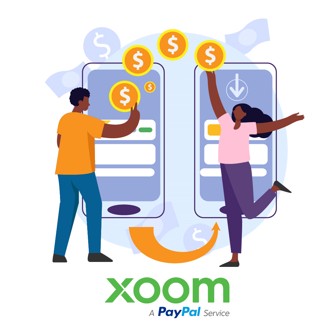 Send money with Xoom app
